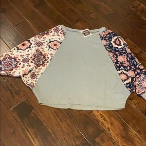 Boutique dolman shirt